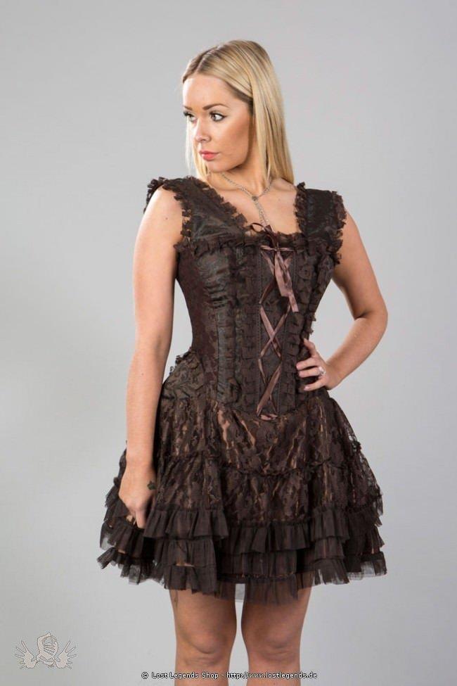 Jasmin Mini Korsett Kleid Mit Spitze Kleider