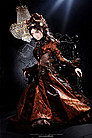 Copper Lady Steampunk Kleid