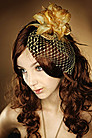 Fascinator Golden Flower