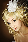 Fascinator Innocent White