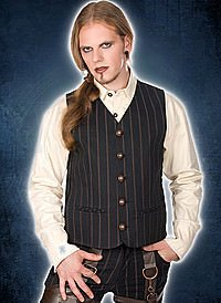 Aderlass Dark Vest Steampunk Vest