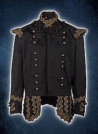 Aderlass Steampunk Jacket Brocade, Brown