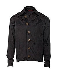 Aderlass Steampunk Shirt Brocade Black