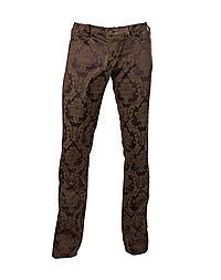 Aderlass Victorian Steam Pants Brocade, Brown