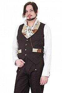 Balloon Collar Steampunk Waistcoat