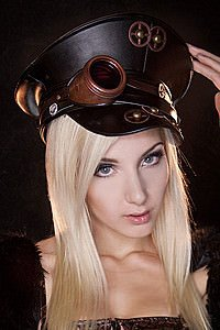 Copper Mining Steampunk Officers Hat