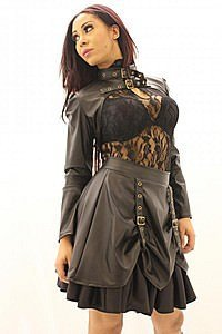 Golden Steam 2 Strap Steampunk Bolero