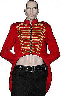 Military Tail Jacket Steampunk Mantel