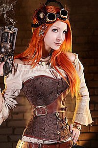 Steampunk Corset Steampunk Korsett