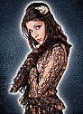 Aderlass Steam Punk Blouse Lace Copper