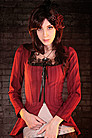 Emporiyum Bitter Beauty Tail Jacket Steampunk Bluse