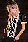 Mercy Satin Top Steampunk Top