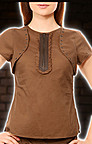 Round Bolero Steampunk Top