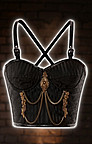 Steampunk Brokat Bustier 