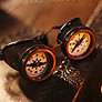 Steampunk Goggles Compass