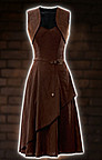Steampunk Kleid Bolero Dress
