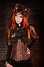 Steampunk Korsett Brokat
