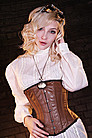 Steampunk Korsett Classic, Leder