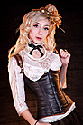 Steampunk Princess Unterbrust Korsett