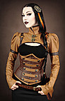 Steampunk Shrug Kunstleder