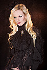 Viktorianische Bluse Gothic, Steampunk